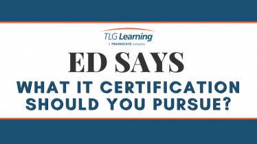 Ed Says - What IT Cert_