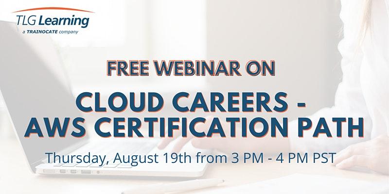 Cloud careers - AWS certification path