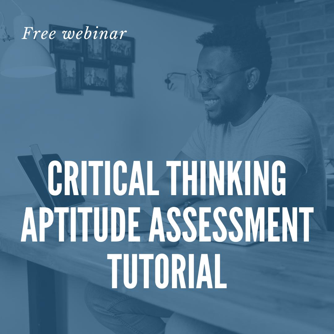 critical thinking tutorial header image
